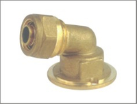 Brass 90 degree Elbow Plumbing Fitting China Supplier