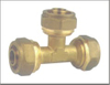 Brass Plumbing Equal Tee Connector Cheap Price China Factory