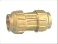 Brass Straight Pipe Fitting