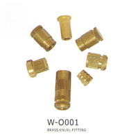 Brass Knurl Fitting