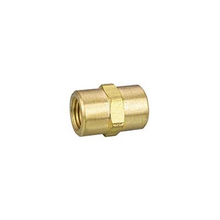 Female Straight Nipple With Hexagon Brass Nipple