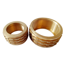 "Brass 1/8""-1"" Medium Pressure Insert"